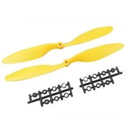 OZK000296 - 1045 Sarı Plastik CW/CCW Pervane Seti