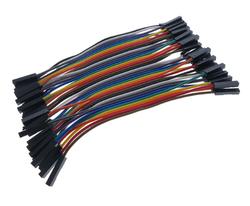 OZK000357 - OZK357-10cm 40'lı Jumper Kablo Dişi-Dişi