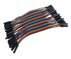 OZK000357 - 10cm 40'lı Jumper Kablo Dişi-Dişi