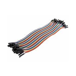 OZK000279 - 20cm 40'lı Jumper Kablo Dişi-Dişi