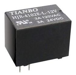Tianbo - HJR-4102-L 24VDC Röle 6 Pin