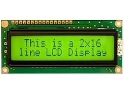 OZK000403 - 2x16 LCD Yeşil