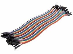 OZK000276 - 30cm 40'lı Jumper Kablo Dişi-Dişi