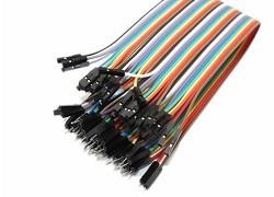 OZK000275 - 30cm 40'lı Jumper Kablo Erkek-Dişi