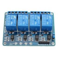 OZK000046 - 4 Way 5V Relay Module - 4'lü 5V Röle Kartı