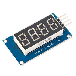 - OZK581-TM1637 4 digit 7 segment display board