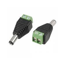 OZK000267 - 5.5*2.5mm DC Power Erkek Plug Jak Adaptör Konnektör Plug