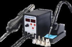 OZK004510 - 898D Çift Dijital Göstergeli Sıcak Hava ve Lehimleme İstasyonu