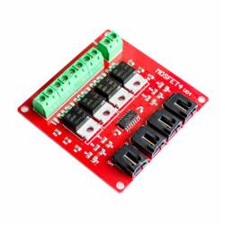 - Arduino 4 Kanal IRF540 Mosfet Modülü