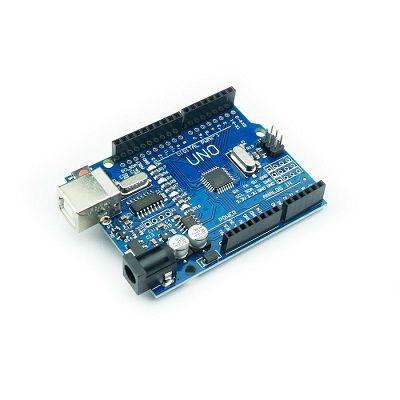 Arduino UNO R3 KLON - USB KABLO HEDİYELİ - (USB Chip CH340)