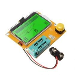OZK000376 - Batarya, Buton, Transistor, Capacitor LCRT4 Grafiksel Test Cihazı