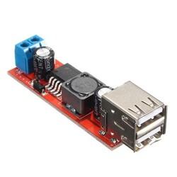 OZK000584 - Çift USB Çıkışlı 9V / 12V / 24V / 36V - 5V Dönüştürücü DC 3A