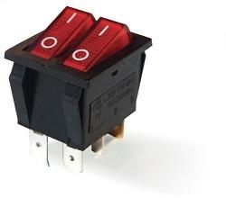 - IRS-2101-1C Çiftli Anahtar Işıklı 101