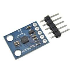 OZK000184 - HMC5883L 3 Eksenli Pusula Sensörü - Manyetometre - GY-271