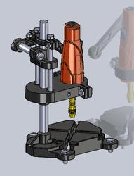 Marxlow - Matkap Sehpası ve Mini Drill (Matkap Ucu ve Mandren Seti Dahil)