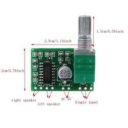 OZK000602 - PAM8403 Ses Kontrollü Ses Amplifikatörü