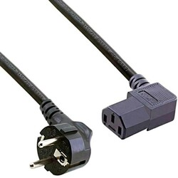 - Power Kablo Erkek 90'-DİŞİ 180' 3 x 0.75mm 1.8mt. OZK-2