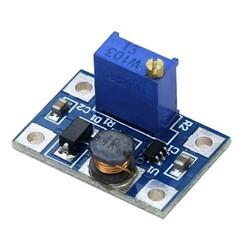 OZK000596 - SX1308 Ayarlanabilir 28V 2A 1.2Mhz Step-Up Güç Kaynağı Modülü