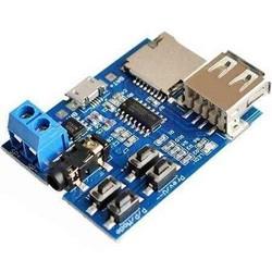 OZK000203 - TF Kart ve USB Flash Disk Girişli Oynatıcı Modül (MP3 Formatı)