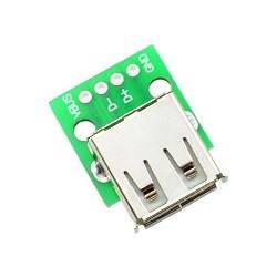 OZK000157 - Usb Dişi Tip A Dip Dönüştürücü